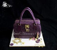 Dior Design Bag Cake