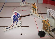NHL Hockey Game, tabletop slot hockey game for kids (and grownups). Old Games, Games For Kids, Vintage Table, Vintage Toys, Old School Toys, Childhood Toys, Childhood Memories, Cool Tables, Hockey Games