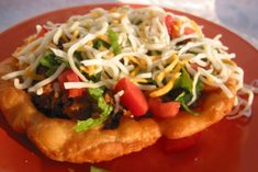 County Fair Indian Tacos. Photo by Chef Dee