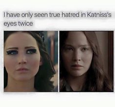 Who is she looking at in these scenes that she could have so much hate for? I mean Katniss hates everyone( except Peeta and her mother and Prim) but who are the ones she's looking at? Answer to whoever wrote this comment it's snow Divergent Hunger Games, Hunger Games Memes, The Hunger Games, Hunger Games Fandom, Hunger Games Catching Fire, Hunger Games Trilogy, Divergent Fandom, Katniss And Peeta, Katniss Everdeen