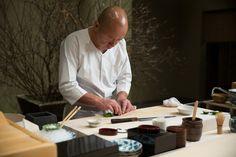 Masa Takayama's Columbus Circle restaurant is New York's only Japanese restaurant with three Michelin stars.