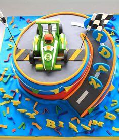 6th Birthday Cakes For Boys, Car Cakes For Boys, Race Car Cakes, 2nd Birthday Party Themes, Race Car Birthday, Race Car Party, Boy Birthday Parties, Race Cars, Birthday Ideas