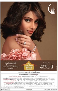 Exclusive #‎diamond‬ #jewellery‬ for the  #wedding‬ season by #Gili , offers 20% off till 11th June . For more updates about #jewelry and #jewellers‬ visit www.jewellerscheck.com