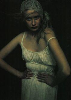 Ritratti di Allora by Paolo Roversi for Vogue Italia April 1998- Great Photography!
