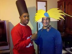 Arnold and Gerald Costume..epic!