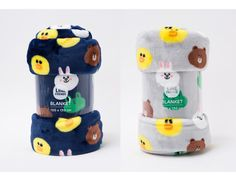 LINE FRIENDS BROWN & CONY Character official Soft Fleece Throw Blanket New Ver.2   Home & Garden, Bedding, Blankets & Throws   eBay!