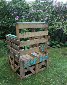 #Garden, #PalletBox, #RecycledPallet