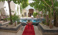 Courtyard pool at Riad Edward, Marrakech