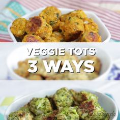 Ordinary tater tots have nothing on these guilt-free, savory snacks.