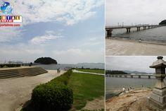 Take Island: o símbolo de Gamagori, na província de Aichi Um belo local turístico em Gamagori, na baía de Mikawa. Esta ilha é ligada por uma ponte, que trás sorte aos casais que atravessam de mãos dadas!