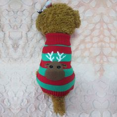 Newest Christmas Snowflake Elk Dog Costume Pet Dress Up Products Puppy Dog Cat Outwear Clothing Supplies Warm Apparel