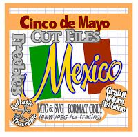 FREE SVG MTC mexico lots of cinch de mayo files here