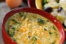 Print PDF       Recipe: T.G.I. Friday's Broccoli Cheese Soup Ingredients 4 cups chicken broth 1 cup water 1 cup half-and-half cream 5 slices cheddar cheese slices 1/2 cup flour...
