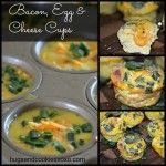 BACON, CHEESE & EGGS BAKED IN CREPE CUPS-THE PERFECT BRUNCH FOOD! - Hugs and Cookies XOXO