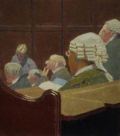 The Athenaeum - Court Scene (Malcolm Drummond - ) Leeds Art Gallery, Aberdeen Art Gallery, Southampton City, Art Fund, St James' Park, Camden Town, Impressionist Artists, Group Art, English Artists