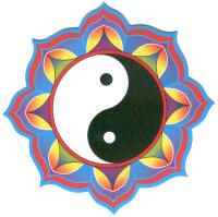 "Yin Yang    Represents harmony and balance and illustrates the concept of ""unity in duality"", the underlying state of the Universe."