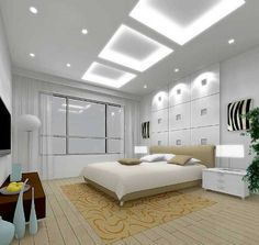 Master Bedroom Decorating Ideas - lights for the room