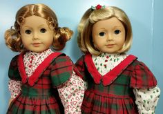 Special Order Christmas Dresses sewn by Shirley Fomby - Doll Clothes by Shirley SOLD