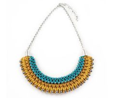 casual glam: beaded rope necklace