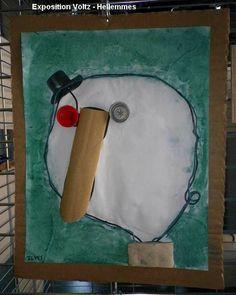 ARTS VISUELS: Visages à la manière de Christian Voltz