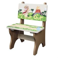 @rosenberryrooms is offering $20 OFF your purchase! Share the news and save!  Dinosaur Kingdom Timeout Chair #rosenberryrooms