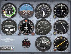 Cessna Control Panel Photograph  - Cessna Control Panel Fine Art Print