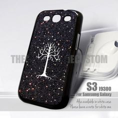White Tree of Gondor Sparkle Print Samsung 9300 White Tree Of Gondor, Ariel The Little Mermaid, Samsung Galaxy S3, Sparkle, Phone Cases, Messages, Accessories, Moon, Design