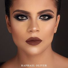Bom dia!  Glam  Model: Milla França Makeup / Photo: Raphael Oliver Breve novos cursos!  #raphaeloliver #newyear #brasil #mua #love #newtechnique #negras