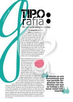 Tipografía en el diseño editorial