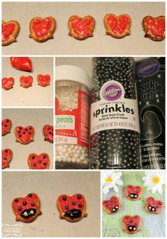 Lady Bug Pretzel Recipe!