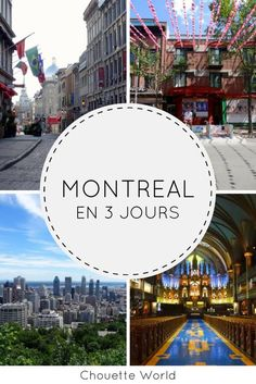 Incredbly Visit Montreal in 3 days: ideas of visit and good addresses Vancouver, Places To Travel, Travel Destinations, Ottawa River, Immigration Canada, Travel Tags, Montreal Quebec, Canada Travel, Canada Canada