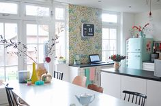 The happy home of a Dutch illustrator and ceramicist