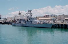 USS Squall, PC-7, Patrol boat, Cyclone class. Commissioned Jul 4, 1994.