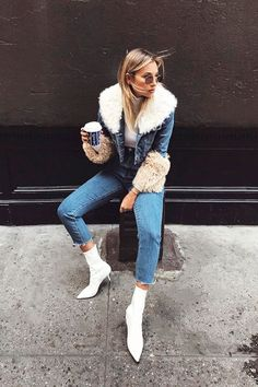 0aeee192e 69 Best White Boot Trend images in 2019 | Fashion, White boots, Style