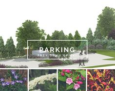Parking, Zebrzydowice Gardening, Graphic Design, 3d, Lawn And Garden, Visual Communication, Horticulture