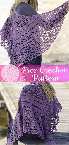 ideas for crochet poncho diy knitting patterns Crochet Gloves, Crochet Scarves, Crochet Shawl, Crochet Lace, Free Crochet, Knitting Scarves, Crochet Cardigan, Crochet Patterns Free Women, Poncho Knitting Patterns