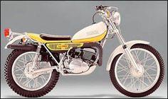 1973 Yamaha One of my favorites wish I still had this one. Yamaha Trail Bike, Motorcycle Bike, Bike Trails, Enduro Vintage, Vintage Bikes, Vintage Motorcycles, Motos Yamaha, Yamaha Motorcycles, Scrambler