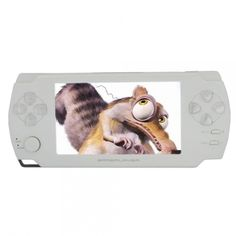 "8gb 4.3"" ultra-thin lcd touch screen new game mp3 mp4 mp5 player camera e-book (txt pdf) white"