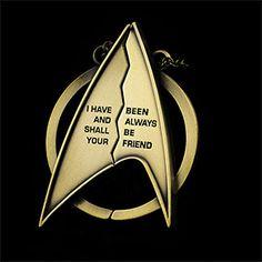 Star Trek Friendship Necklace Additional Image