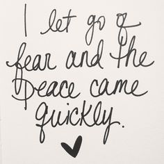 """""""I let go of fear and the peace came quickly"""" -Lea Michele (Cannonball) Reminds me of Frozen hmmm. Great Quotes, Quotes To Live By, Inspirational Quotes, Motivational Monday, Amazing Quotes, Words Quotes, Wise Words, Time Quotes, Lea Michele"""