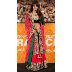 Bollywood Replica - Priyanka Chopra Hot Pink Lehenga at Marrakech International Film Festival