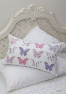 Butterfly applique cushion   review   Kaboodle