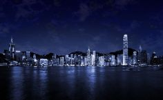 City At Night HD Wallpaper