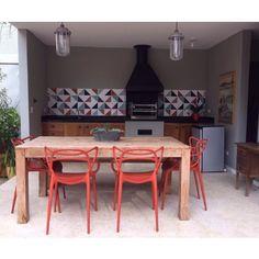 Lurca Azulejos   Raiz 1 Kit - Ceramic Tiles / Azulejos - Kit Raiz 1 // Shop Online www.lurca.com.br/ #churrasqueira #quintal #exterior #yard #lurca #lurca_azulejos #azulejos #azulejosdecorados #revestimentos #arquitetura #interiores #decor #design #reforma #decoracao #geometria #casa #ceramica #architecture #decoration #decorate #style #home #homedecor #tiles #ceramictiles #homemade #madeinbrazil #saopaulo #sp #brasil #brazil #design #brasil #braziliandesign #designbrasileiro