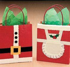 Bolsas de papel Navideñas