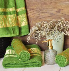 Uterák bamboo zelený 50 x 90 cm EMI Napkin Rings, Home Decor, Bamboo, Decoration Home, Room Decor, Home Interior Design, Napkin Holders, Home Decoration, Interior Design