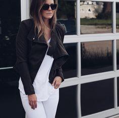 Olive Moto Jacket