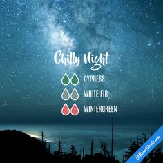 Chilly Night - Essential Oil Diffuser Blend