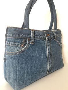 Bag Jeans Denim Classic Style Designer Fashion Hip Fun Purse  #Unbranded #Satchel