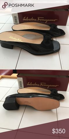 Open toe sandals Never used, gorgeous! Salvatore Ferragamo Shoes Sandals
